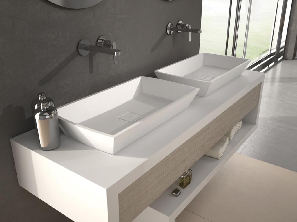 Lavabo modar sobre encimera panelpiedramadrid for Compra de lavabos