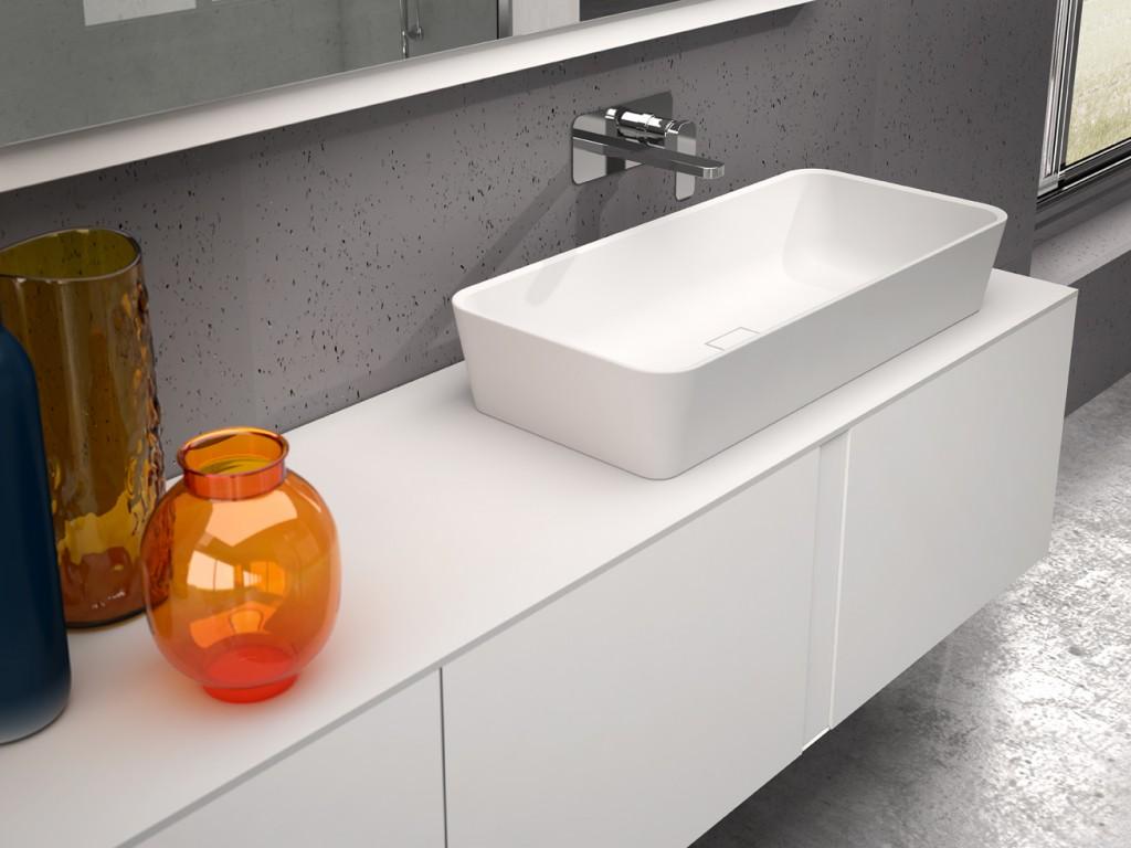 Lavabo sobre encimera gretta2 panelpiedramadrid for Compra de lavabos