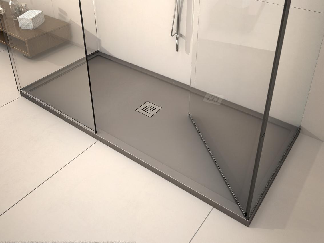 Plato de ducha enmarcados especiales 2 panelpiedramadrid for Plato de ducha flexible